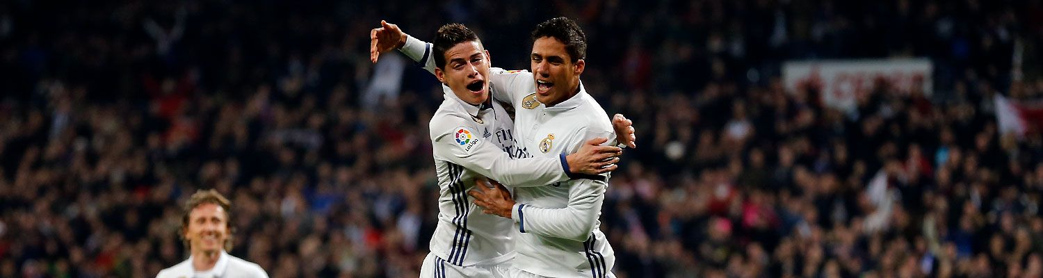 James Varane jubel copadelrey 2017
